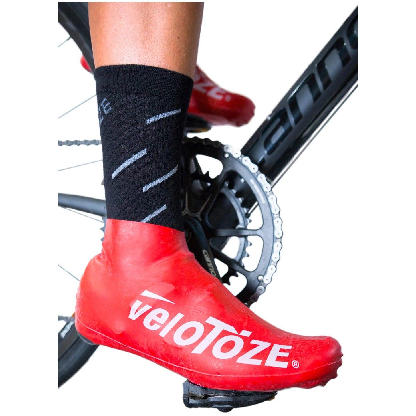 Bild von veloToze Short Shoe Cover Road 2.0 - Überschuh Kurz - black