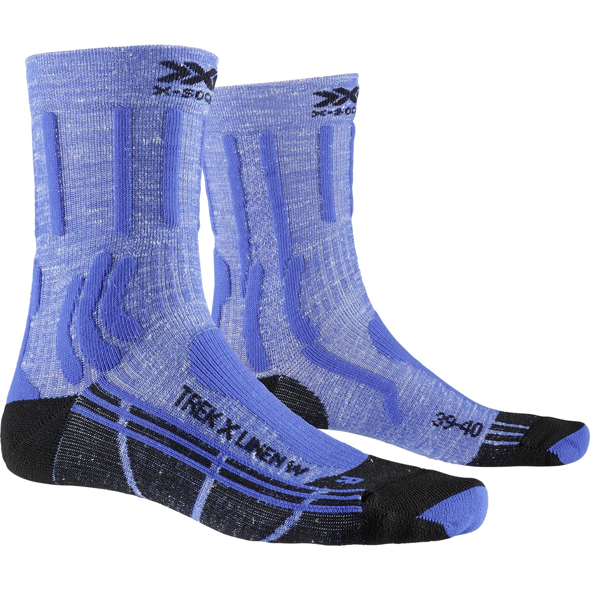 Bild von X-Socks Trek X Linen Damen Socken - lake blue/opal black