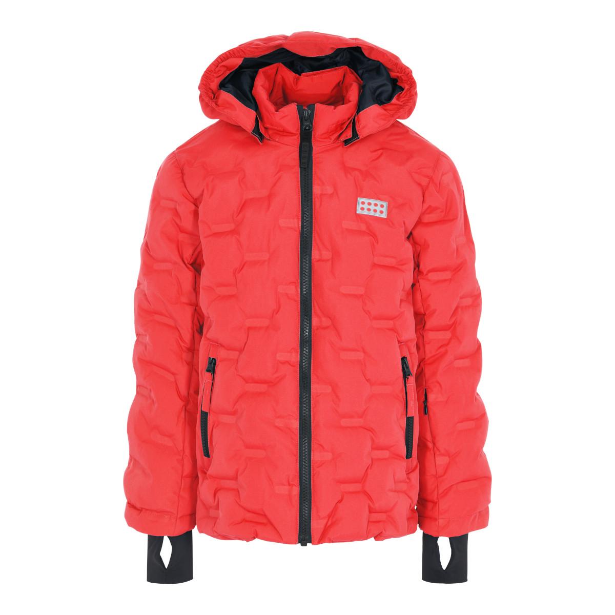 LEGO Wear LWJipe 706 Kinder Jacke - Coral Red