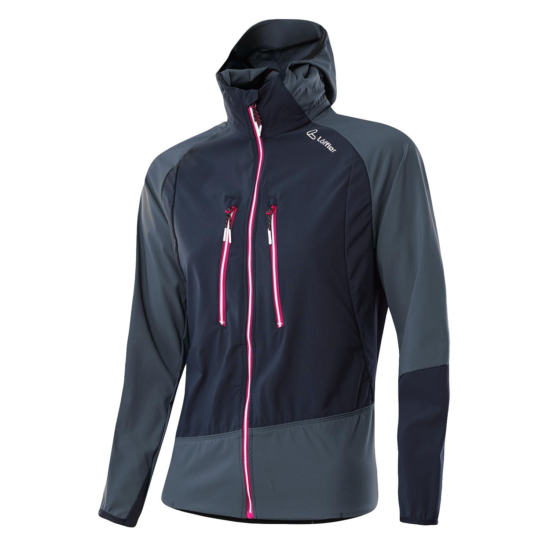 Löffler Hooded Tech Jacket Pace AS Women 24331 - graphite 968