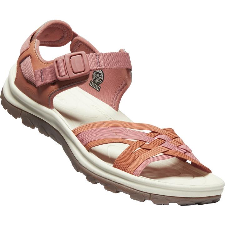 KEEN Terradora II Strappy Open Toe Women's Sandals - redwood