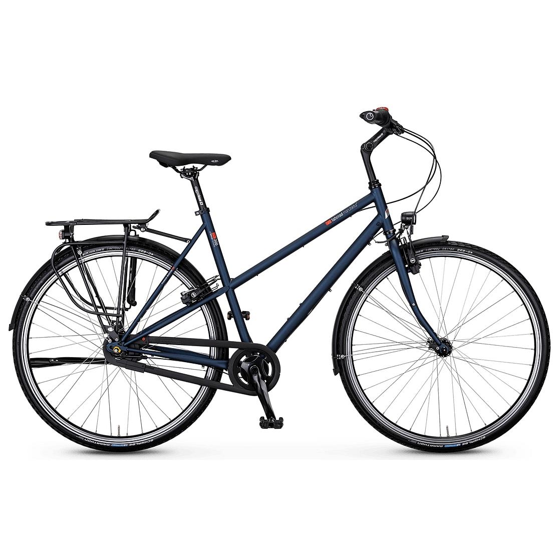vsf fahrradmanufaktur T-300 HS33 Nexus - Damen Trekkingrad - 2021 - midnight matt