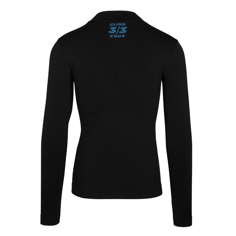 Image of Assos BODY INSULATOR ASSOSOIRES Winter Long Sleeve Skin Layer Undershirt - blackSeries
