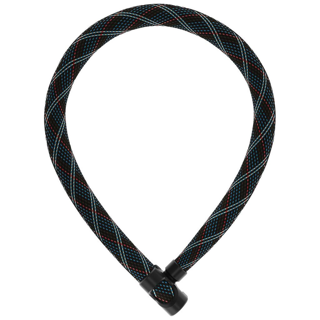 ABUS IVERA Chain 7210/110 Lock - crossing grey