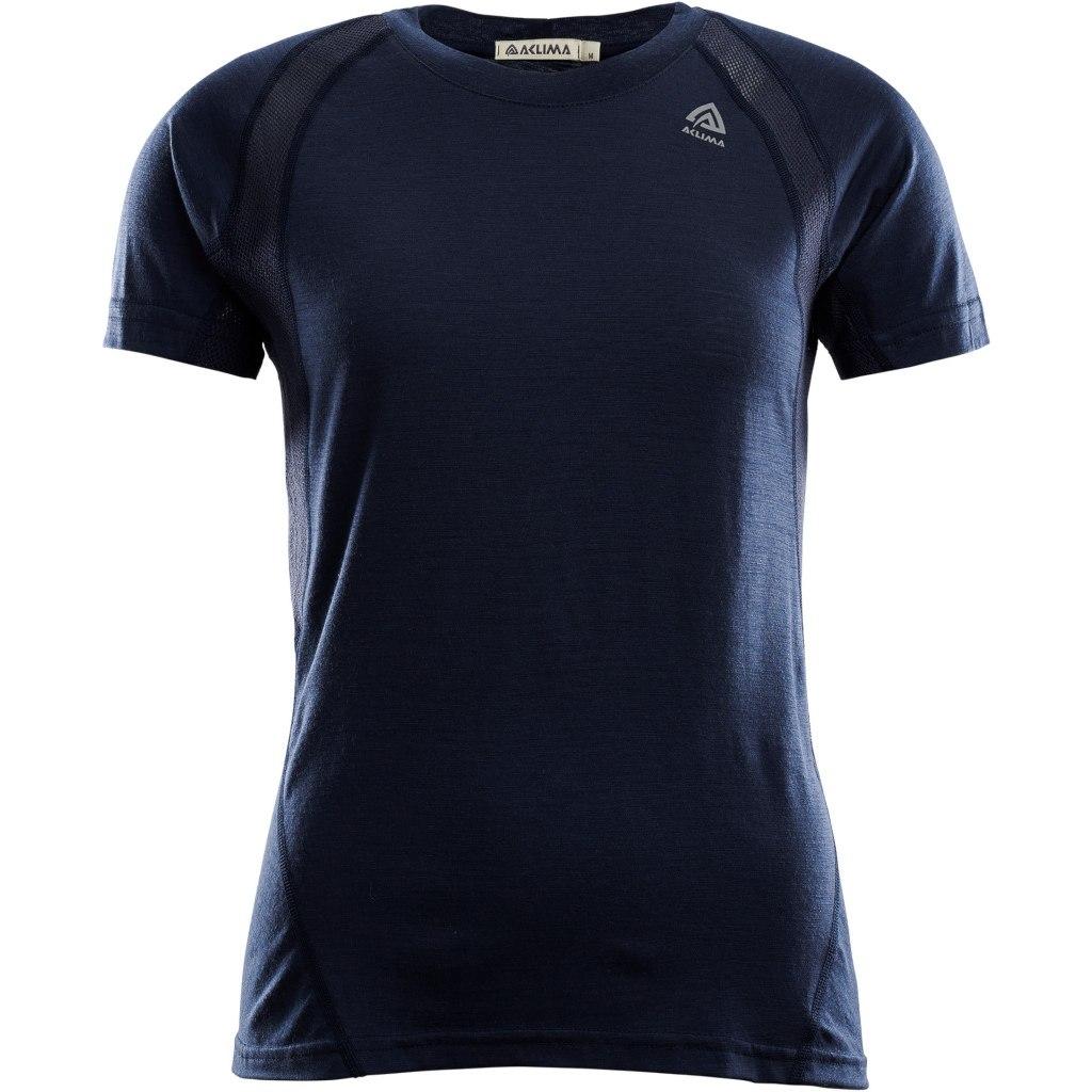 Aclima Lightwool Sports T-Shirt Women - navy blazer