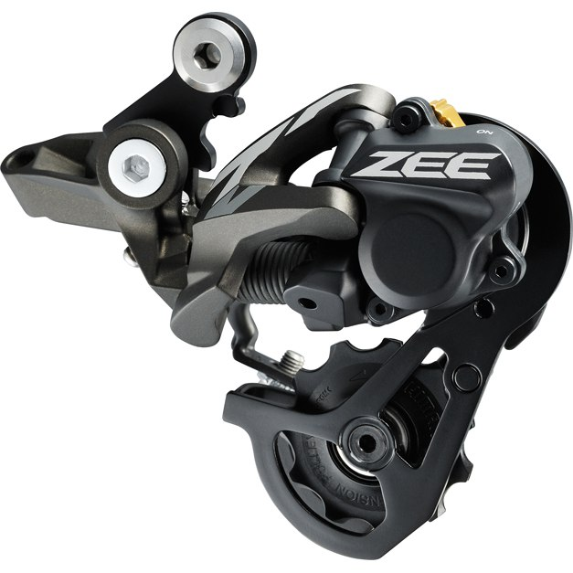Shimano ZEE RD-M640-SSC Shadow RD+ Rear Derailleur 10-speed - black