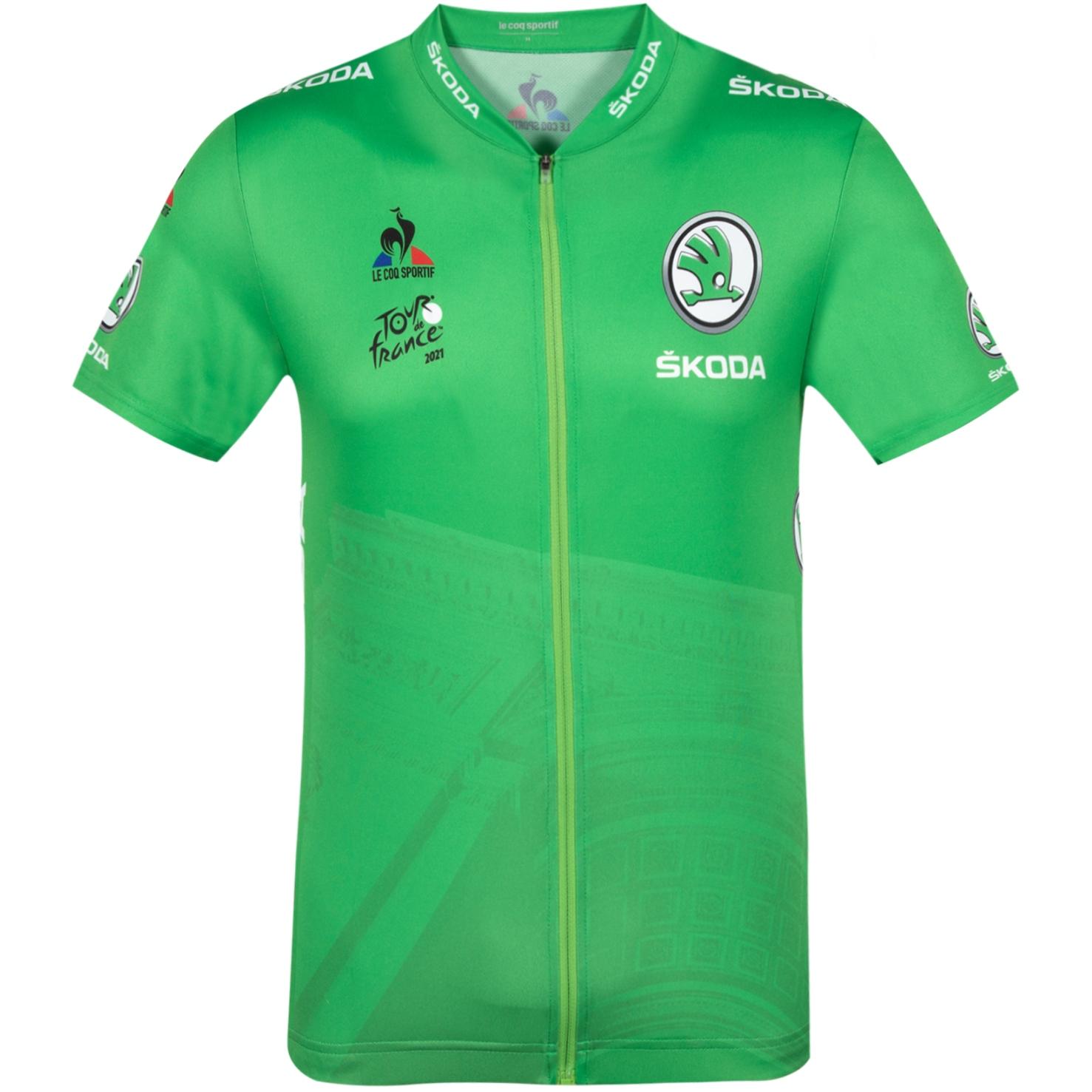 Le Coq Sportif Tour de France™ 2021 Collection Replica Kurzarm-Trikot - Grün