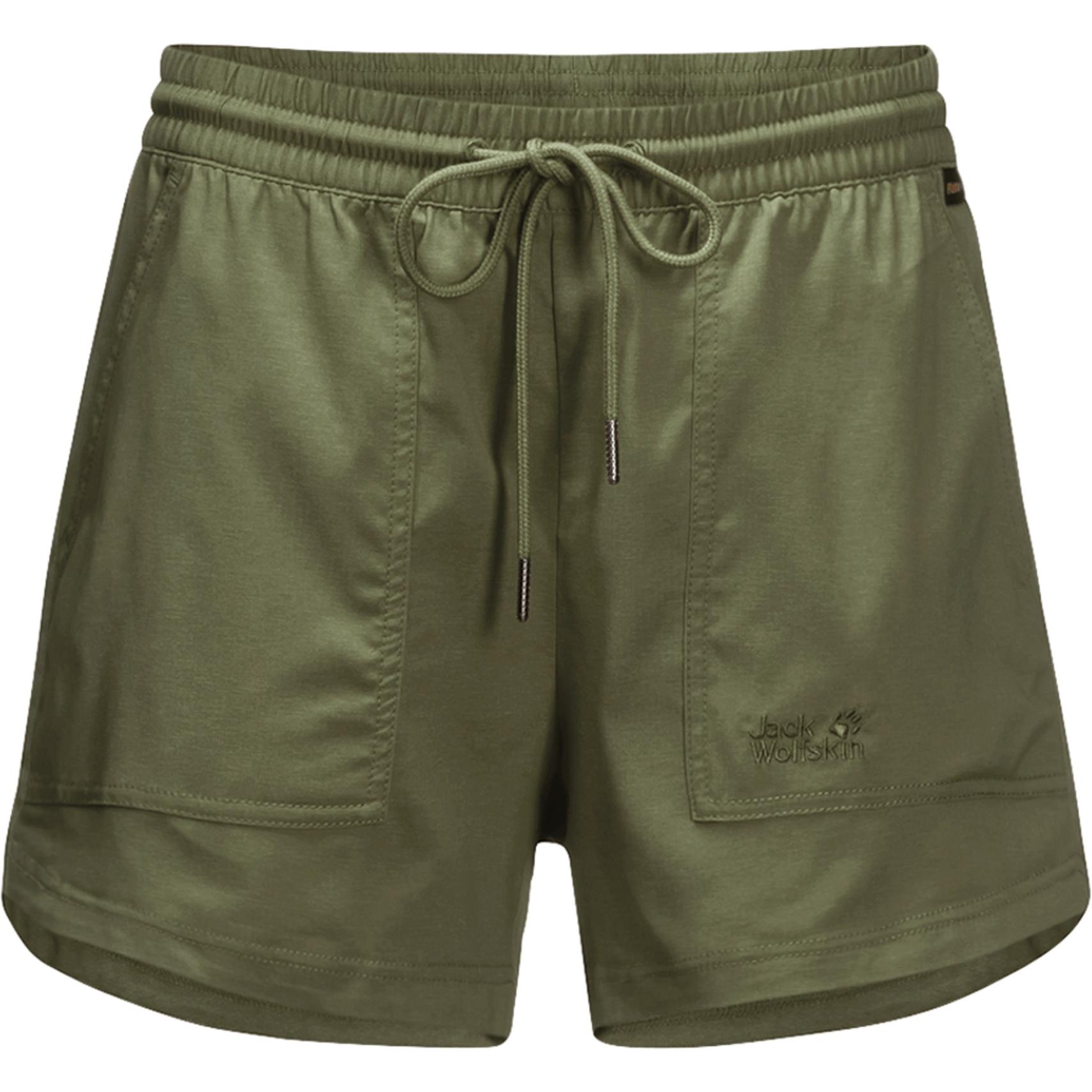 Jack Wolfskin Senegal Damen Shorts - delta green