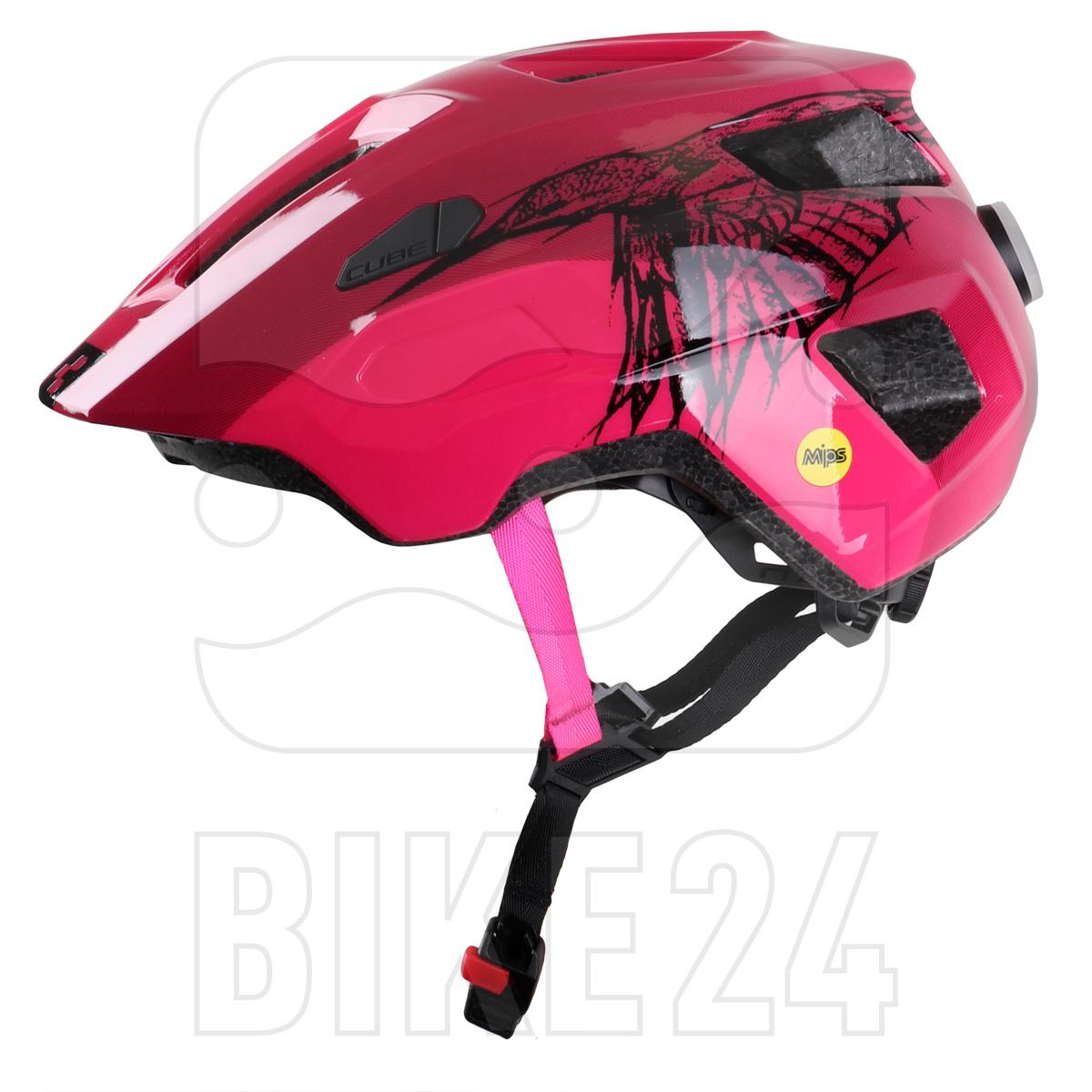 Image of CUBE Helmet LINOK - berry