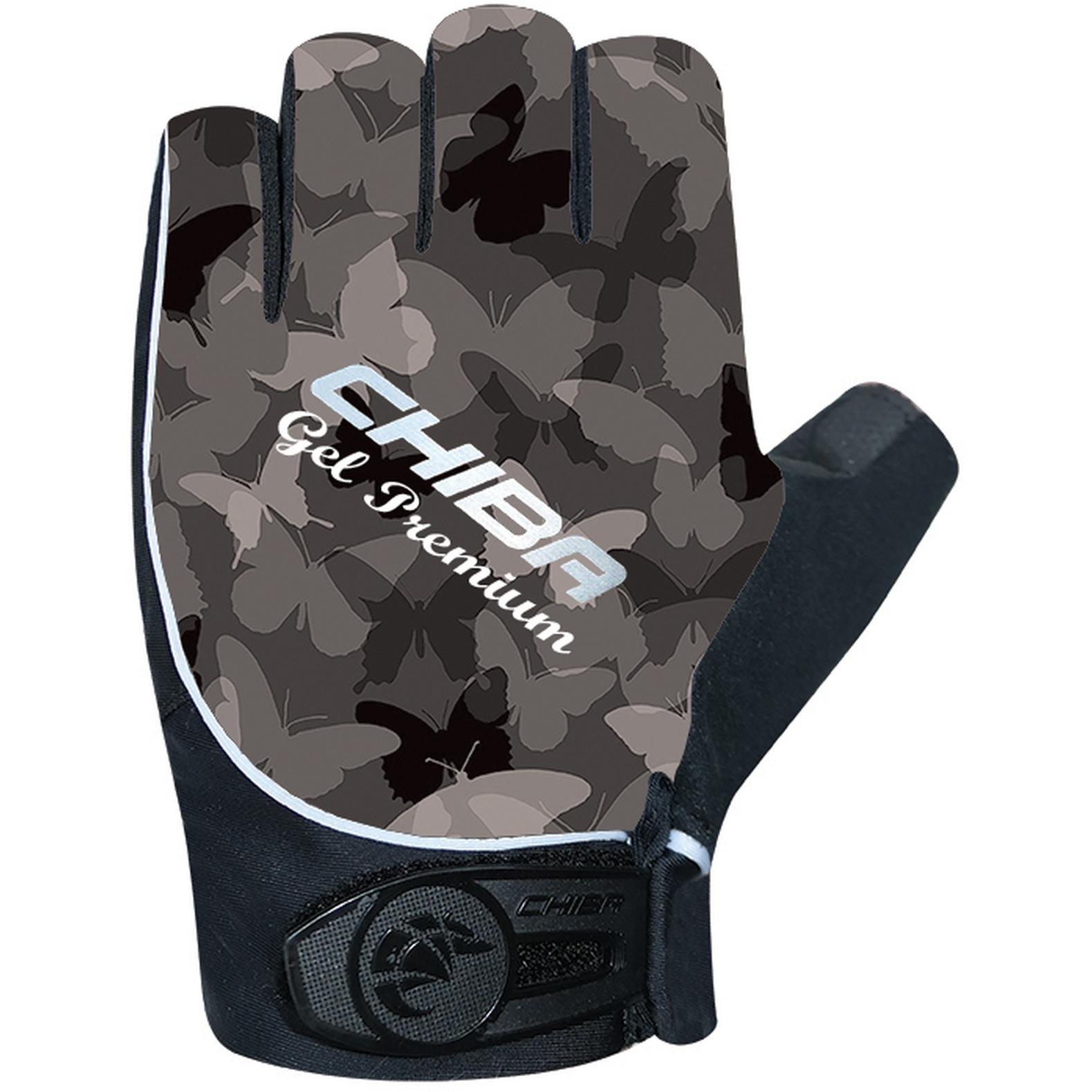 Chiba Gel Premium Bike Gloves Women - dark grey