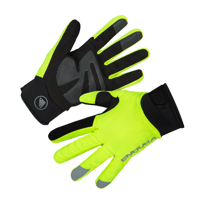 Endura Strike Women's Glove - hi-viz yellow