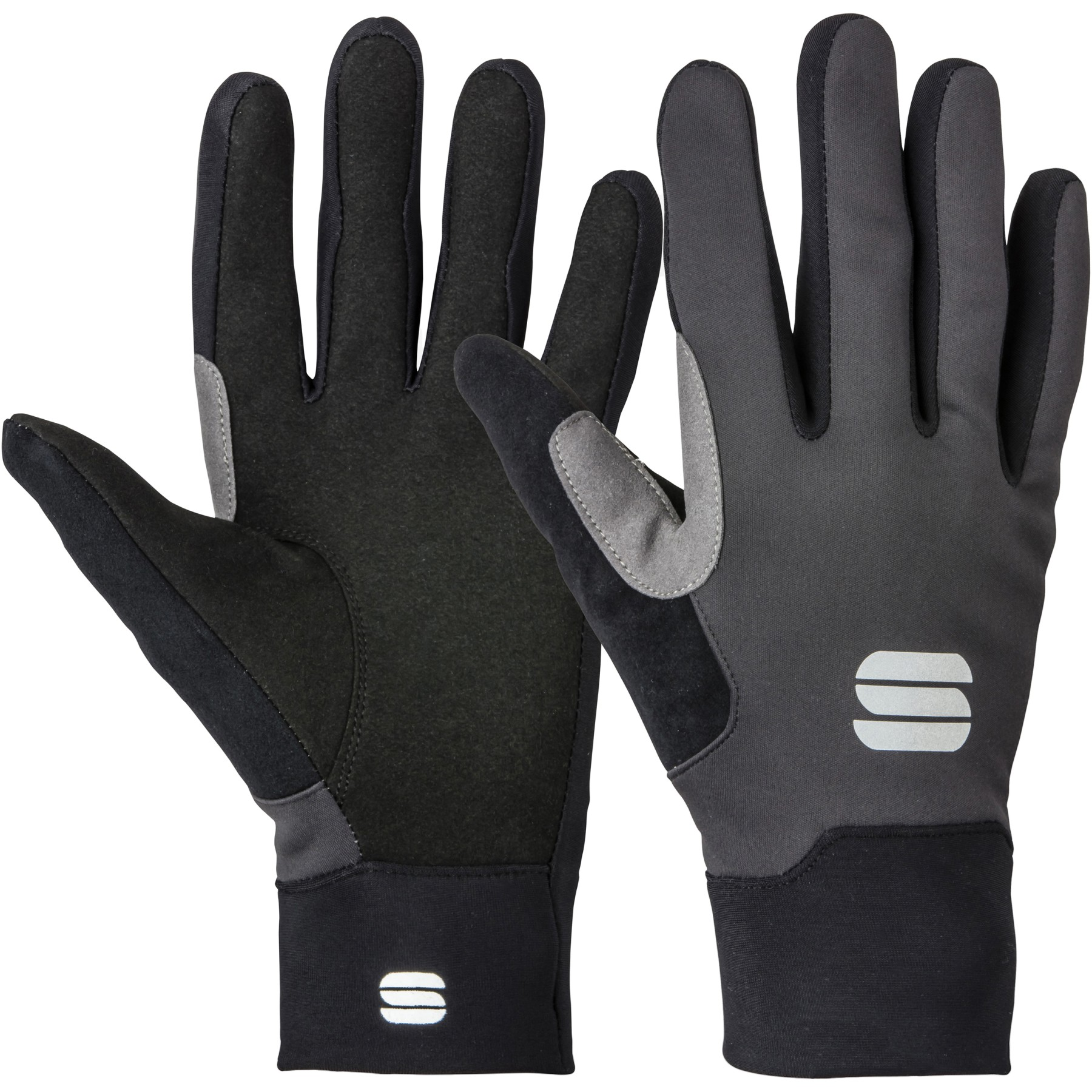 Picture of Sportful Engadin Softshell Gloves - 002 black