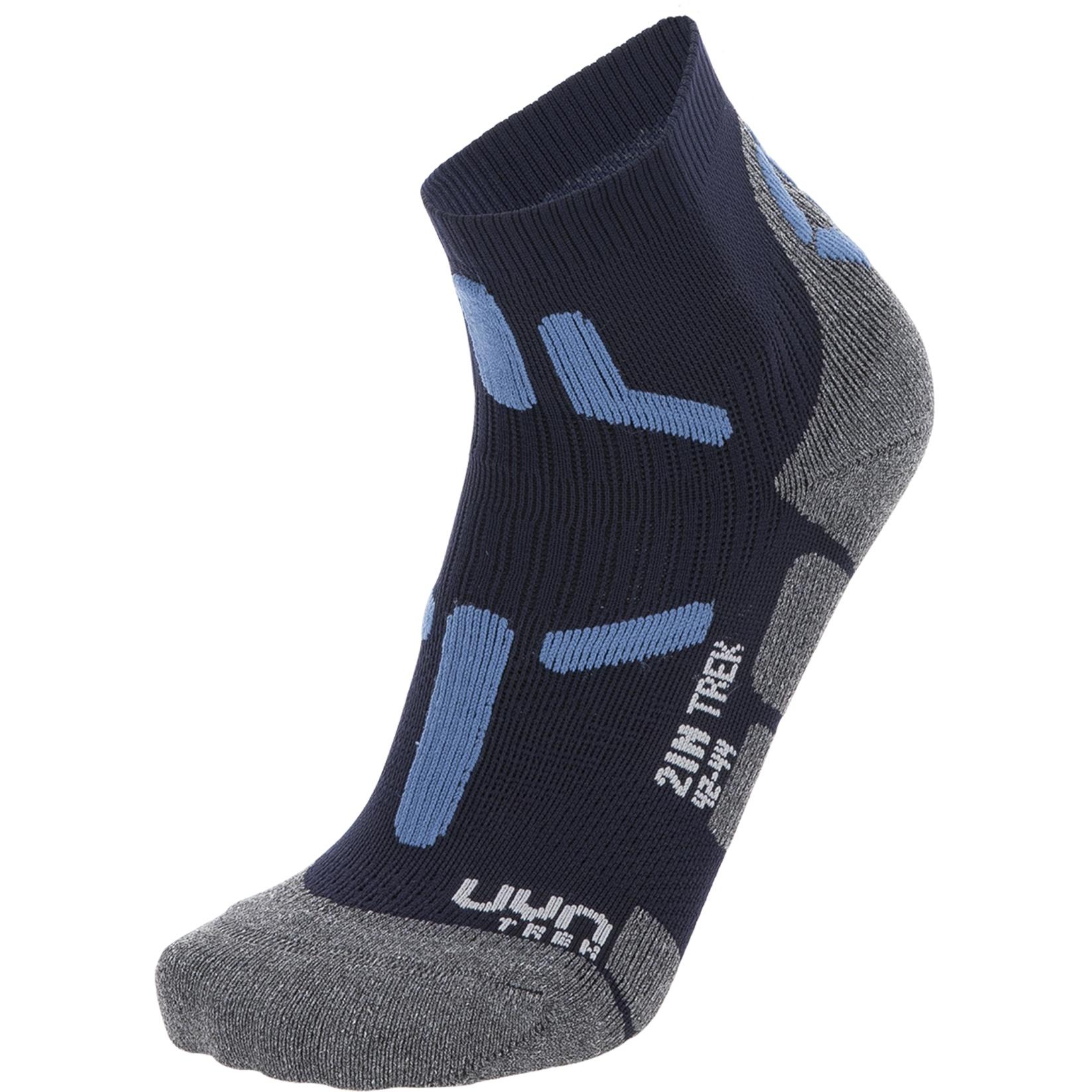 UYN Trekking 2In Low Cut Socken - Blue/Navy