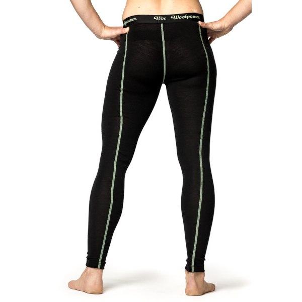 Bild von Woolpower Long Johns LITE Damen Unterhose - schwarz