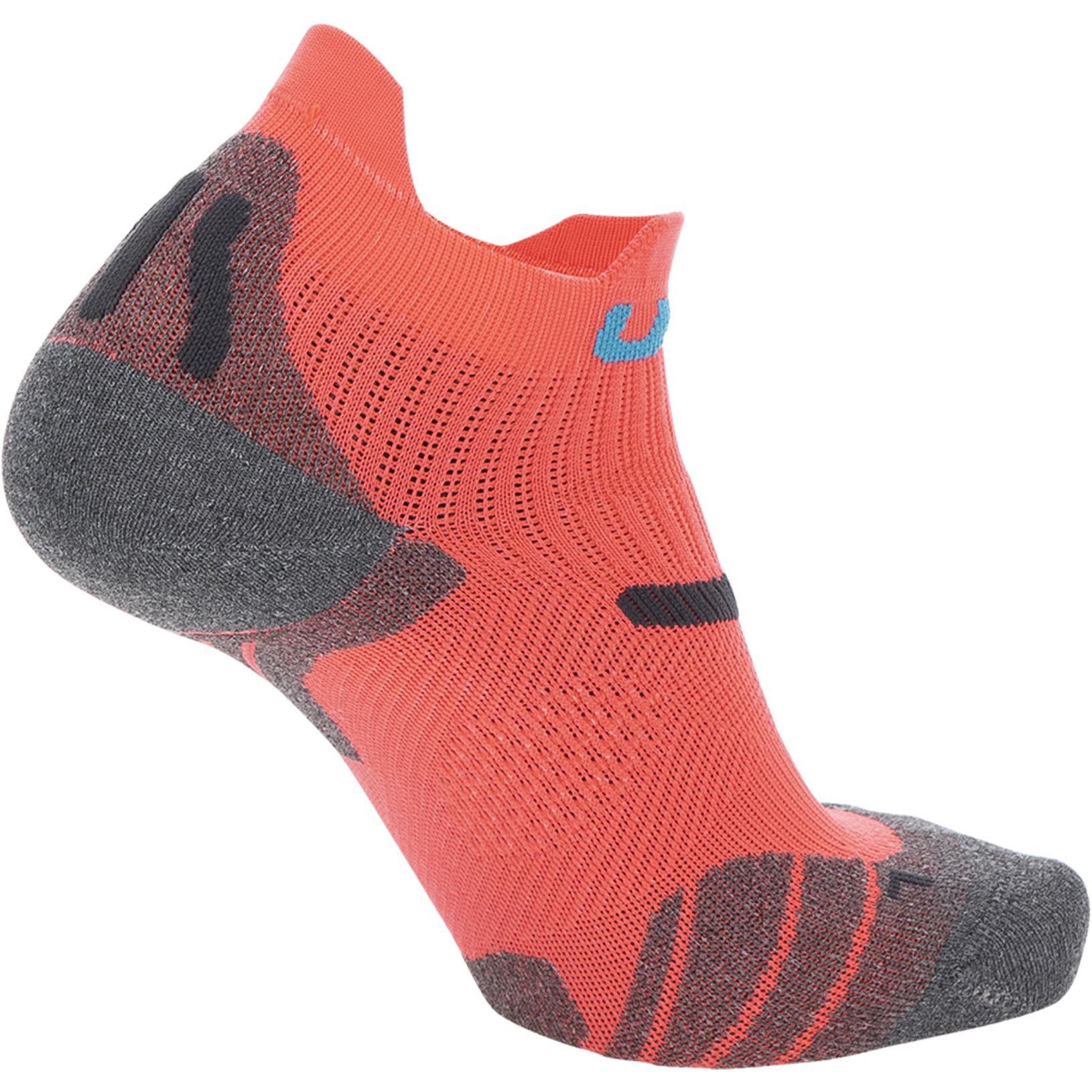 Bild von UYN Run 2In Socken Damen - Coral Fluo/Anthracite
