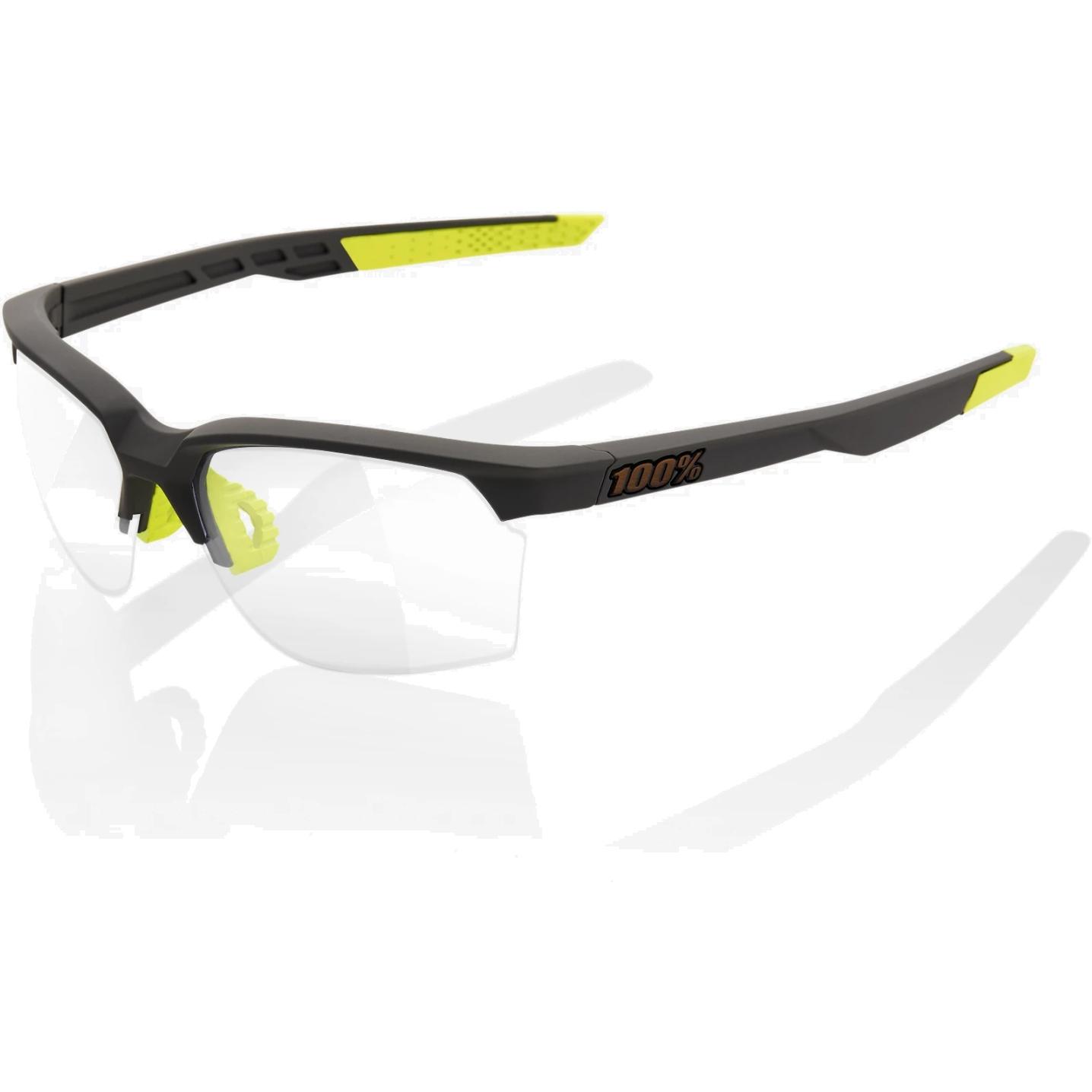 100% Sportcoupe Photochromic lens Gafas - Soft Tact Cool Grey