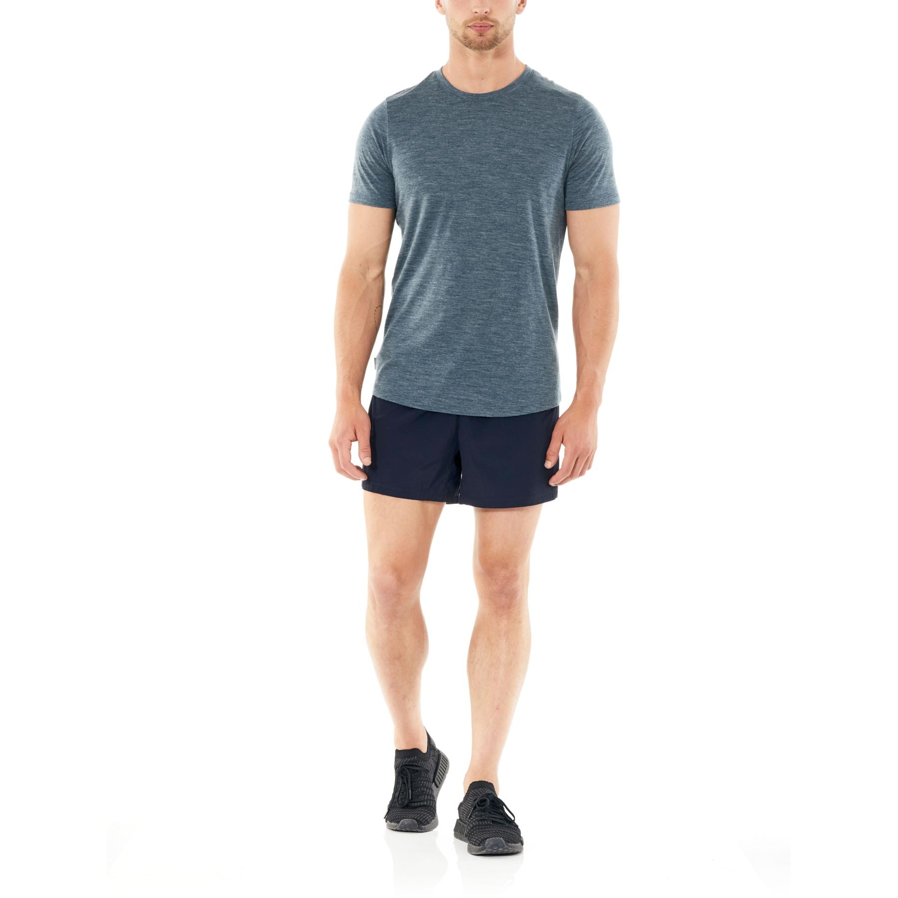 Bild von Icebreaker Impulse Running Herren Shorts - Midnight Navy