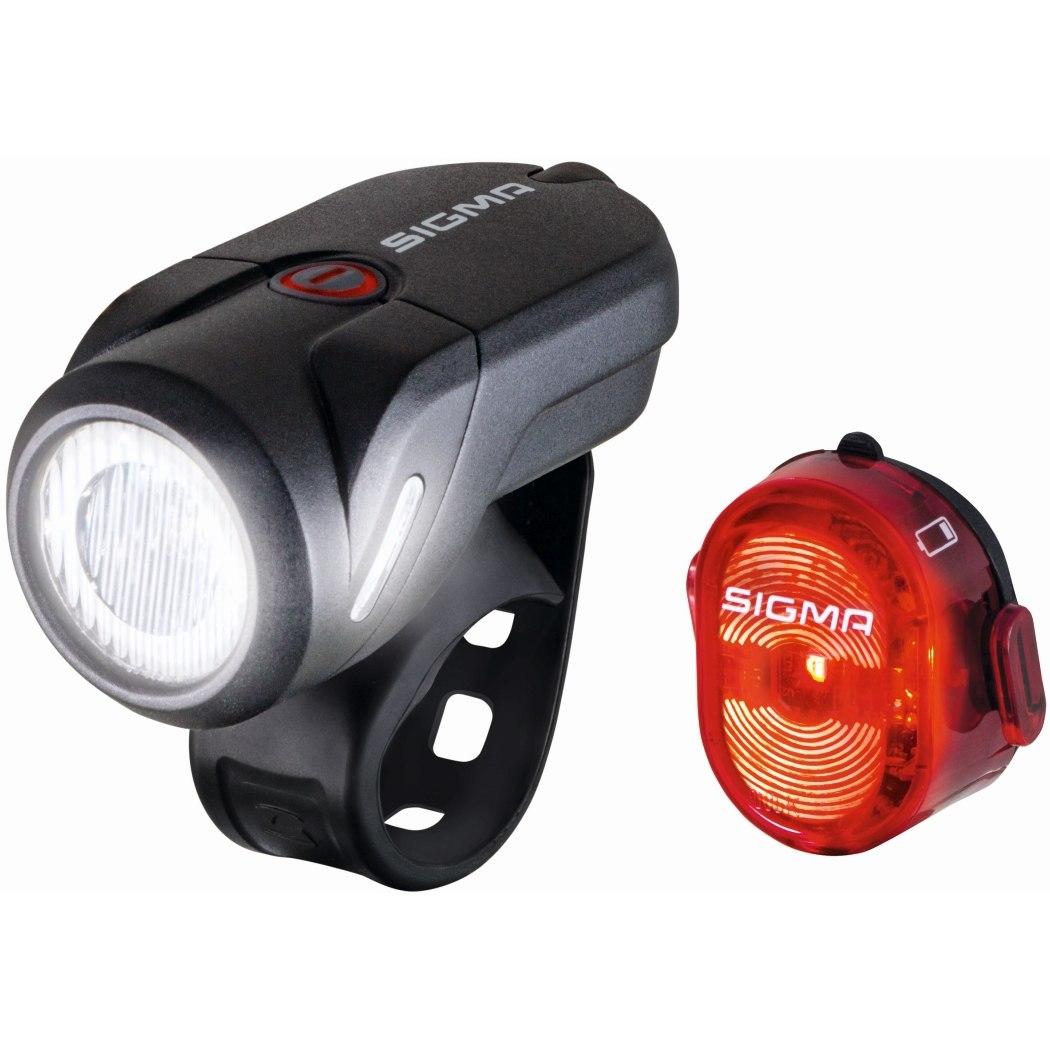 Produktbild von Sigma Sport Aura 35 USB / Nugget II Fahrradbeleuchtung