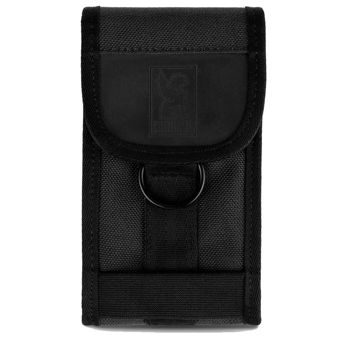CHROME Phone Pouch Medium - Black/Black