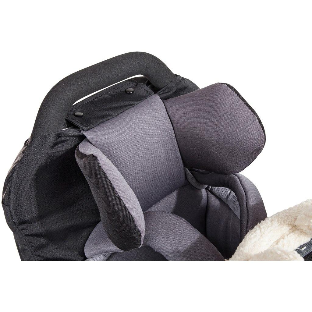 Vaude Head support Shuttle Kopfstütze für Kindertragen - anthracite