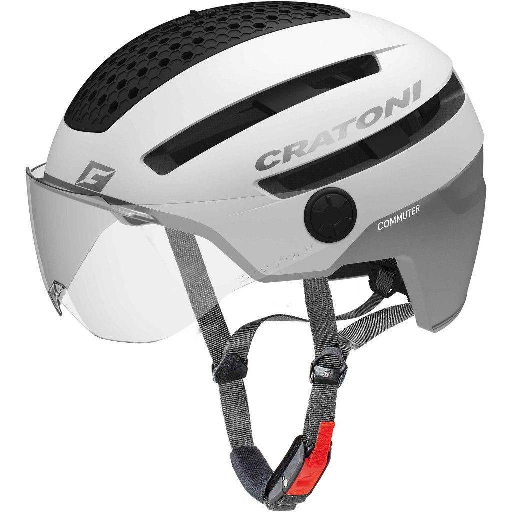 CRATONI Commuter Helmet - white matt