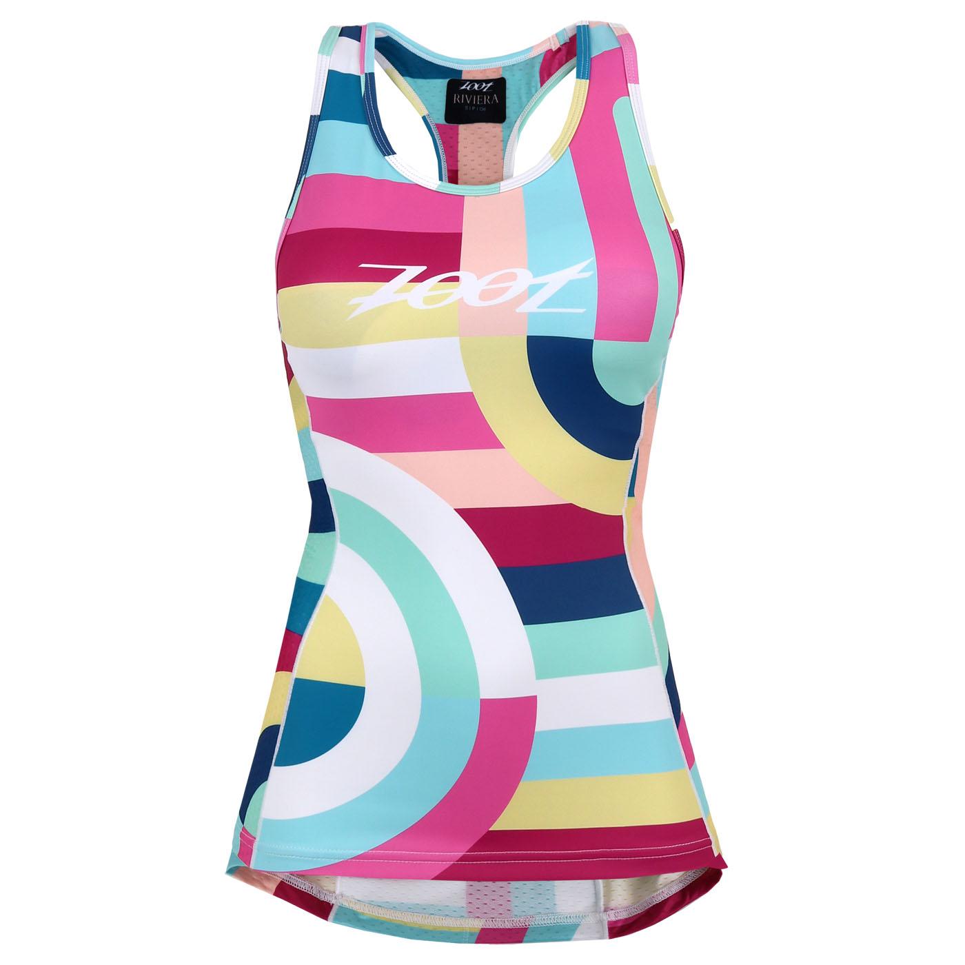 ZOOT LTD Tri Racerback Camiseta para mujers - riviera