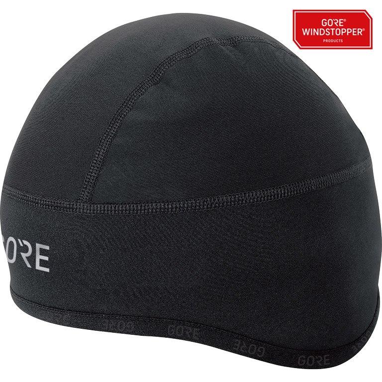 GORE Wear C3 GORE® WINDSTOPPER® Helmet Gorra - black 9900