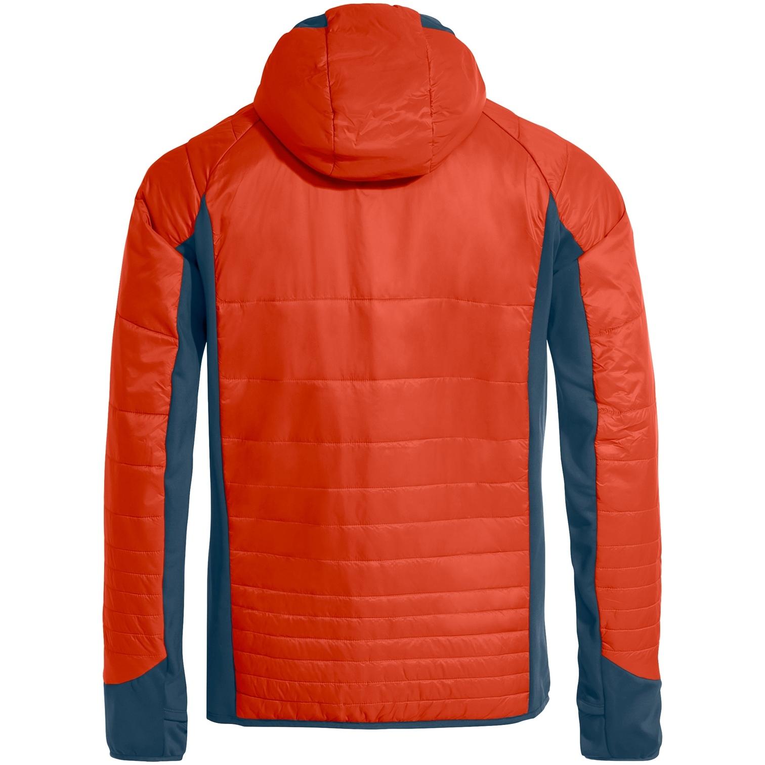 Image of Vaude Men's Sesvenna Jacket III - glowing red