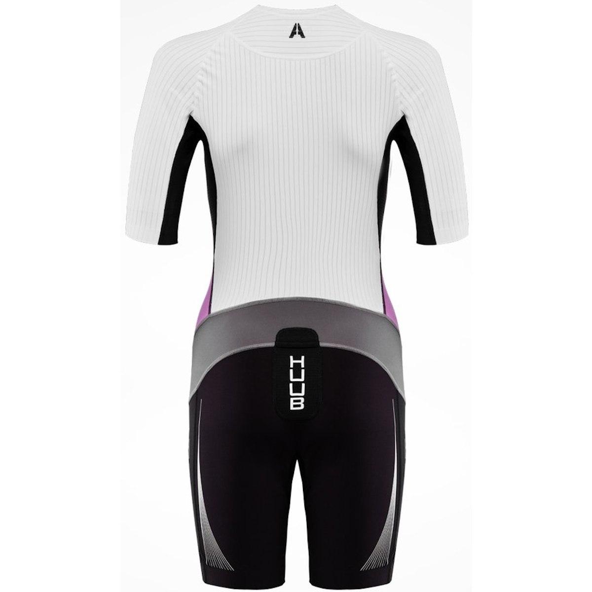 Bild von HUUB Design Anemoi Aero Damen Trisuit - schwarz/lila