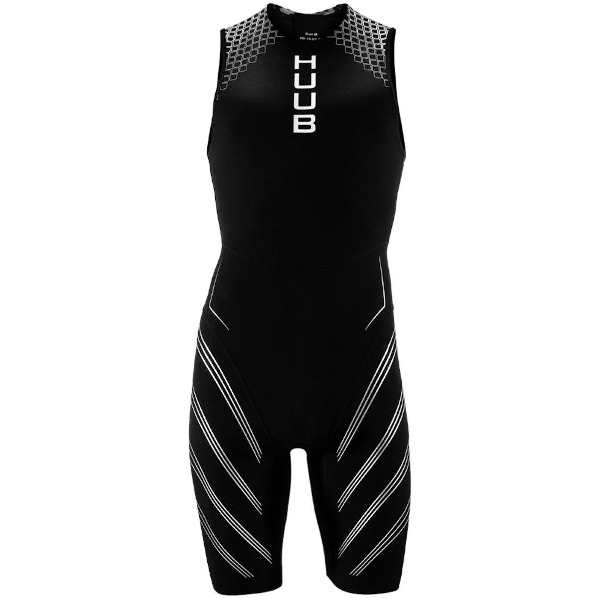 Produktbild von HUUB Design Agilis Swimskin Herren Wetsuit - schwarz/silber