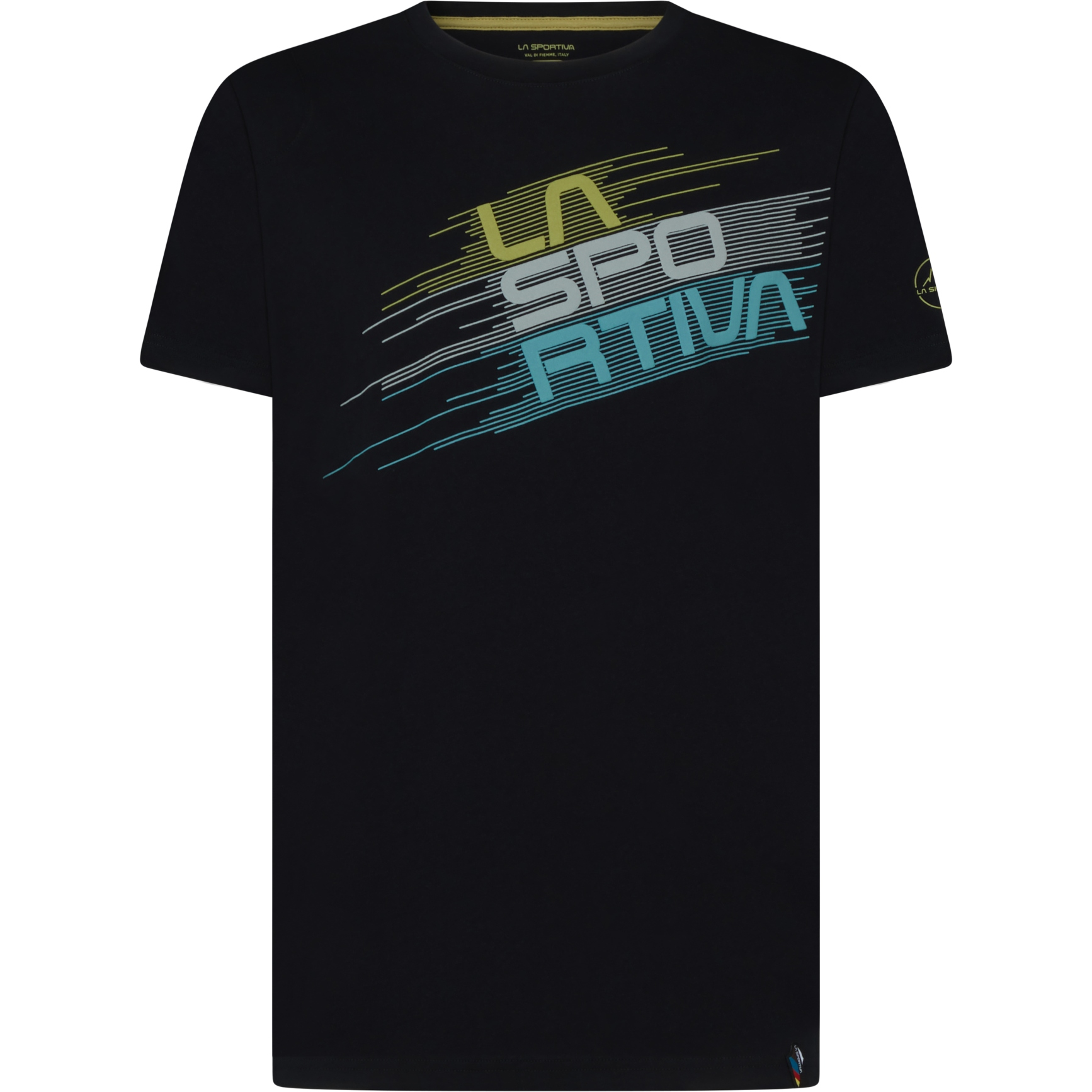 La Sportiva Stripe Evo T-Shirt - Schwarz