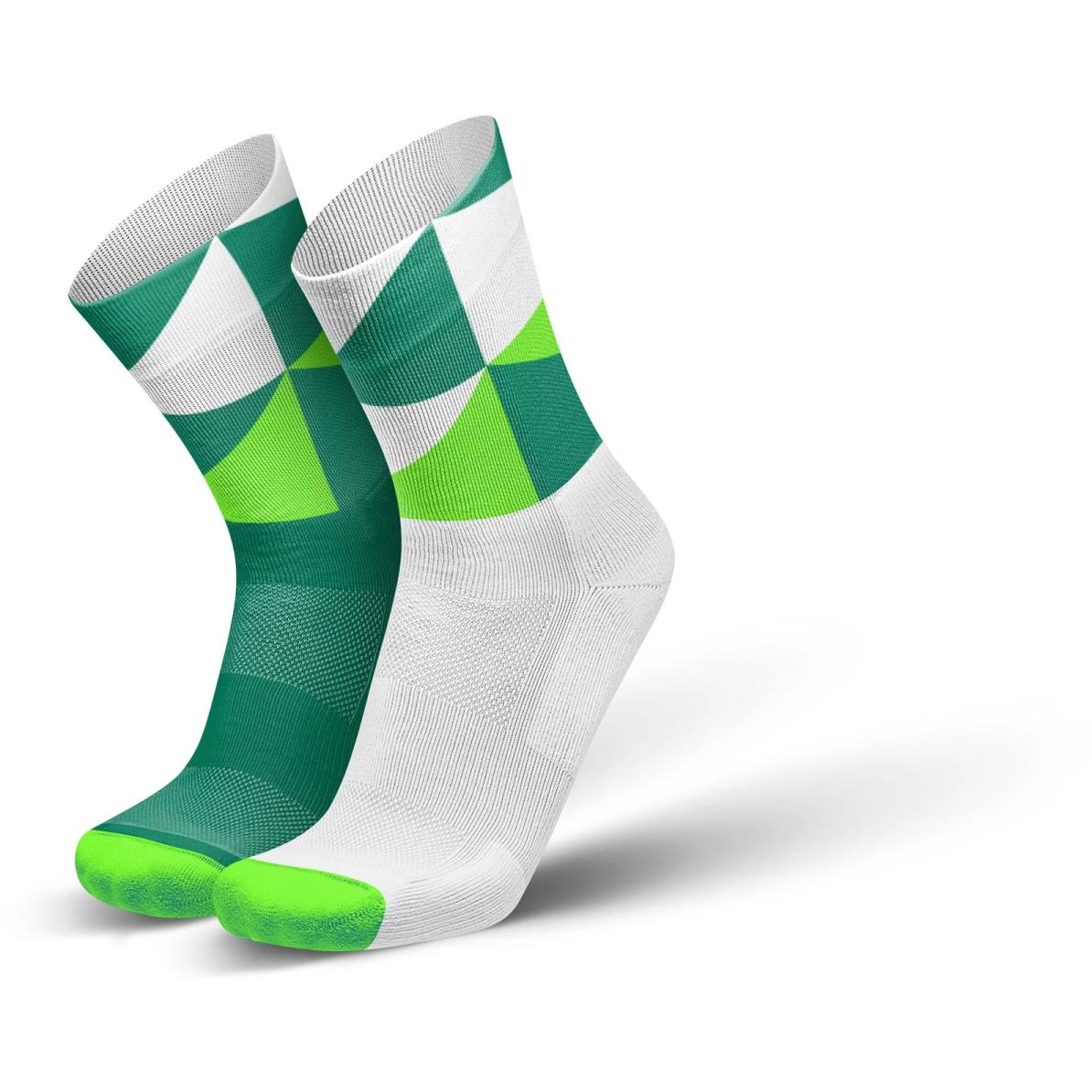 Produktbild von INCYLENCE Running Polygons Socken - Green