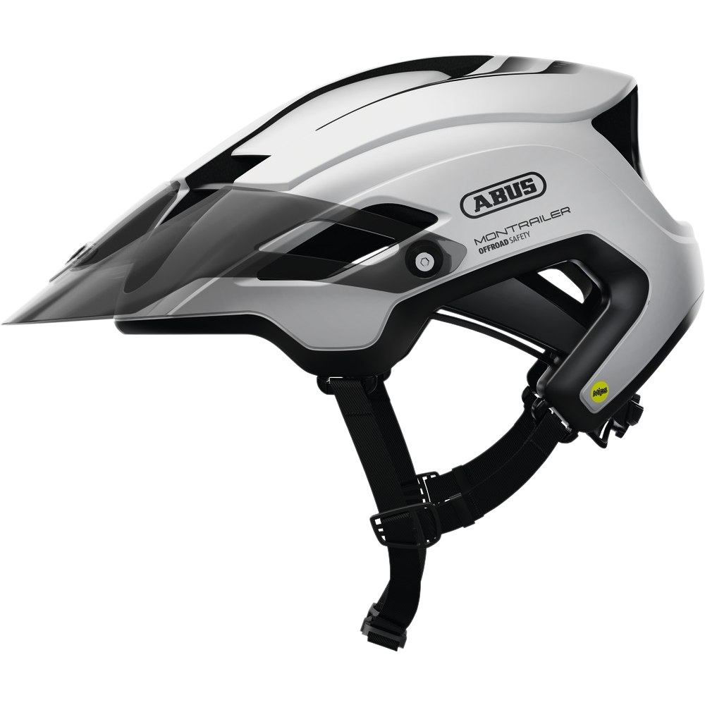 ABUS MonTrailer Mips Helmet - polar white