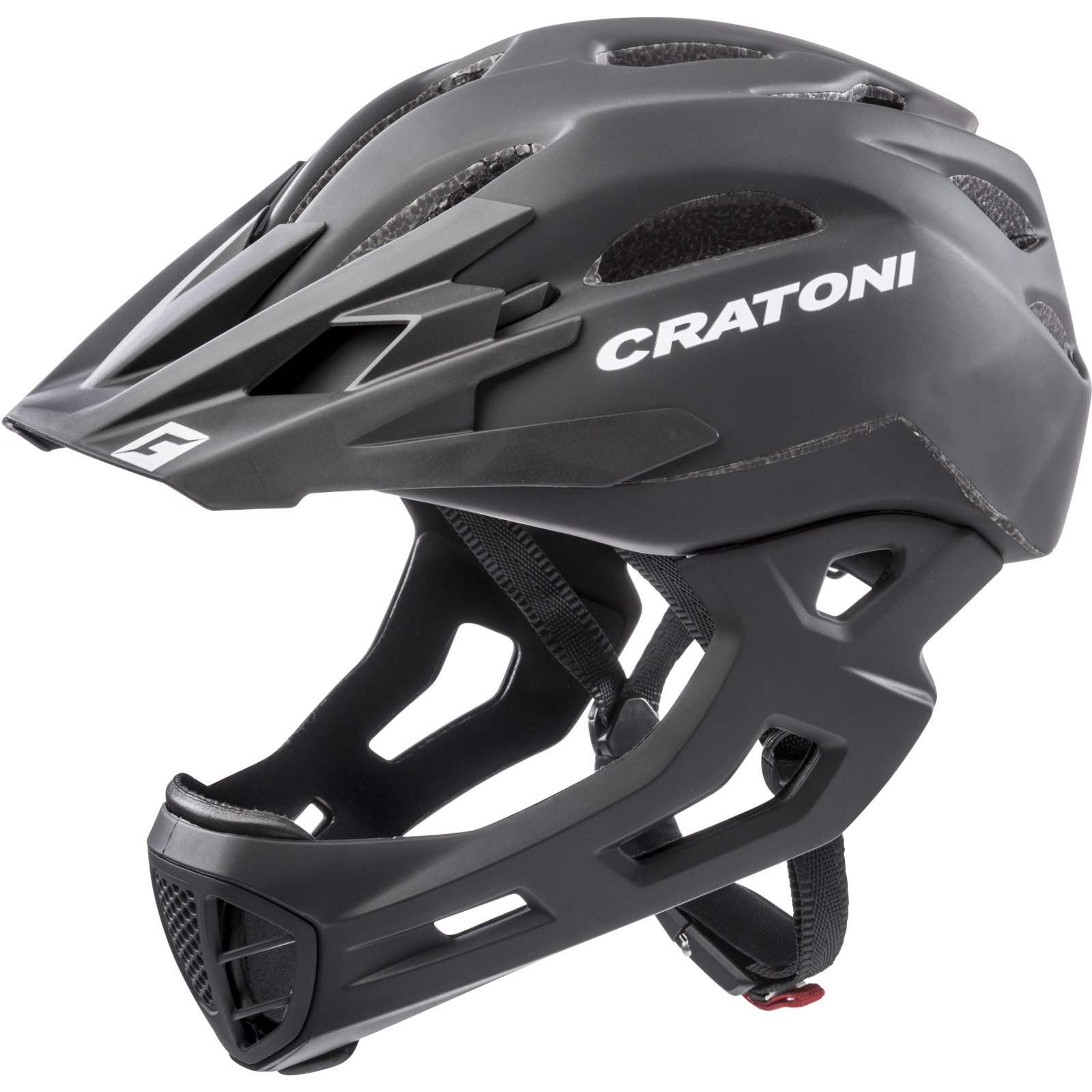 CRATONI C-Maniac Fullface Helmet - black matt