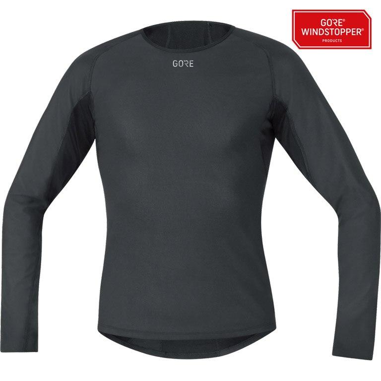 Foto de GORE Wear Camiseta m/l M GORE® WINDSTOPPER® Base Layer Thermo - black 9900