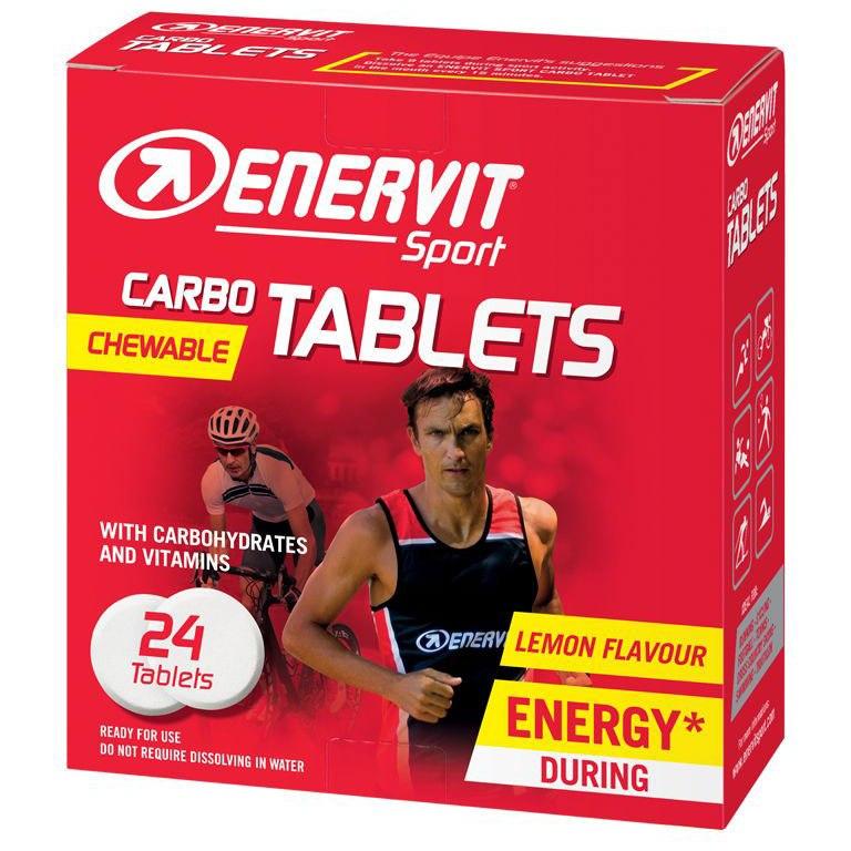 Enervit Carbo Tablets - Chewable - 24 pcs.
