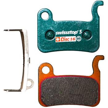 SwissStop Disc 16 S Brake Pads for Shimano XTR / XT / SLX / LX / Deore / Alfine / Saint / Hone / TRP Dash