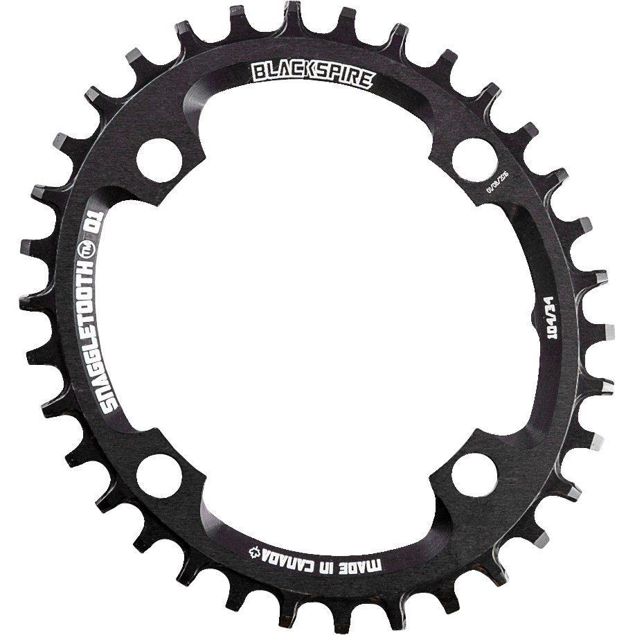 Blackspire Snaggletooth Oval Chainring Narrow-Wide - 4-Arm - 104mm