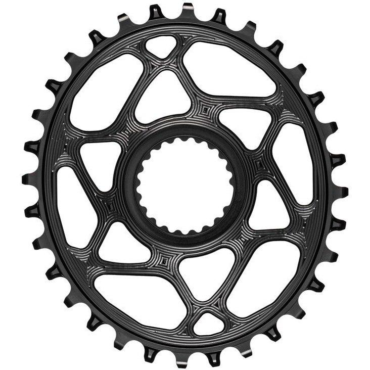 Imagen de absoluteBLACK Chainring - Direct Mount - Narrow Wide - Oval for XTR M9100/M9120 - black