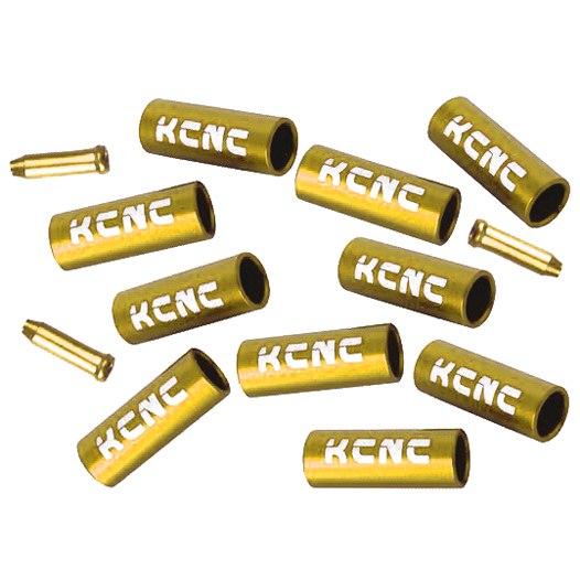 Bild von KCNC Endhülsen Set für Bremszüge und Bremszugaußenhüllen - farbig