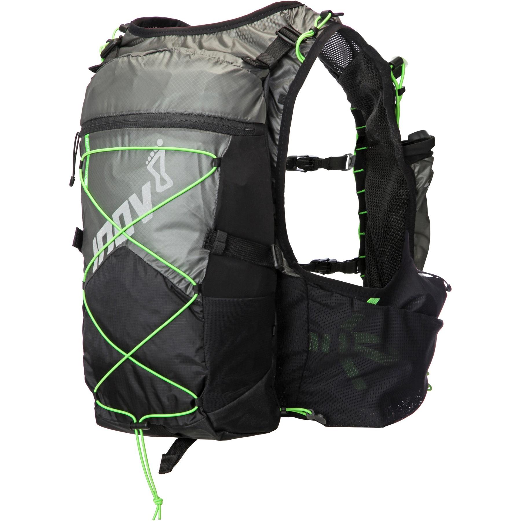 Produktbild von Inov-8 Race Ultra Pro 2in1 Vest Westen-Rucksack - black/green