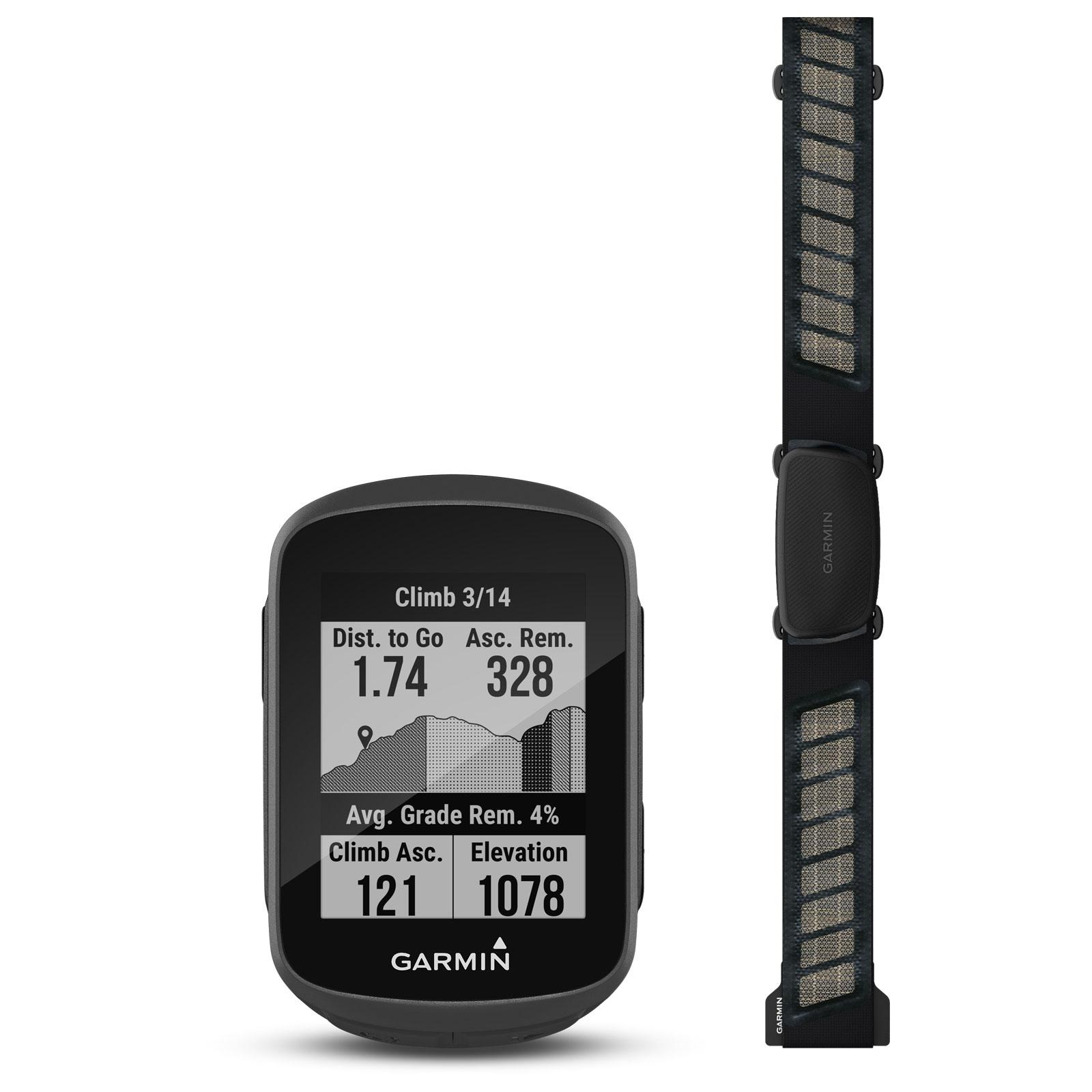 Produktbild von Garmin Edge 130 Plus Herzfrequenz-Bundle GPS Fahrradcomputer