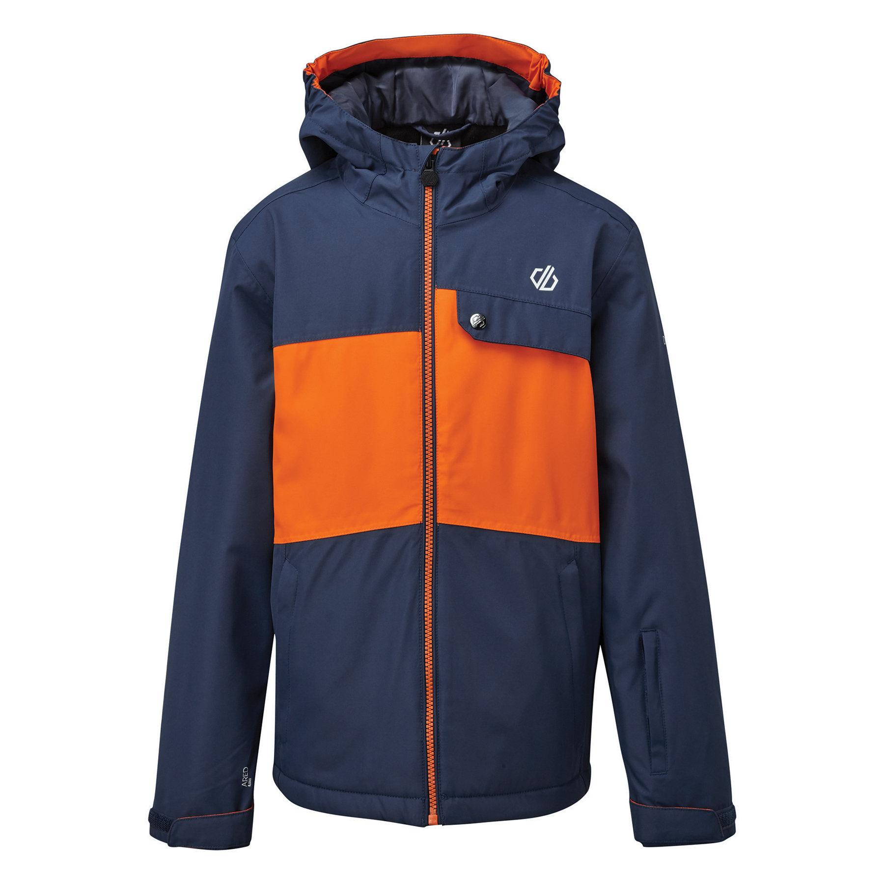 Dare 2b Enigmatic Jacket Kids - 40I Dark Denim/Blaze Orange