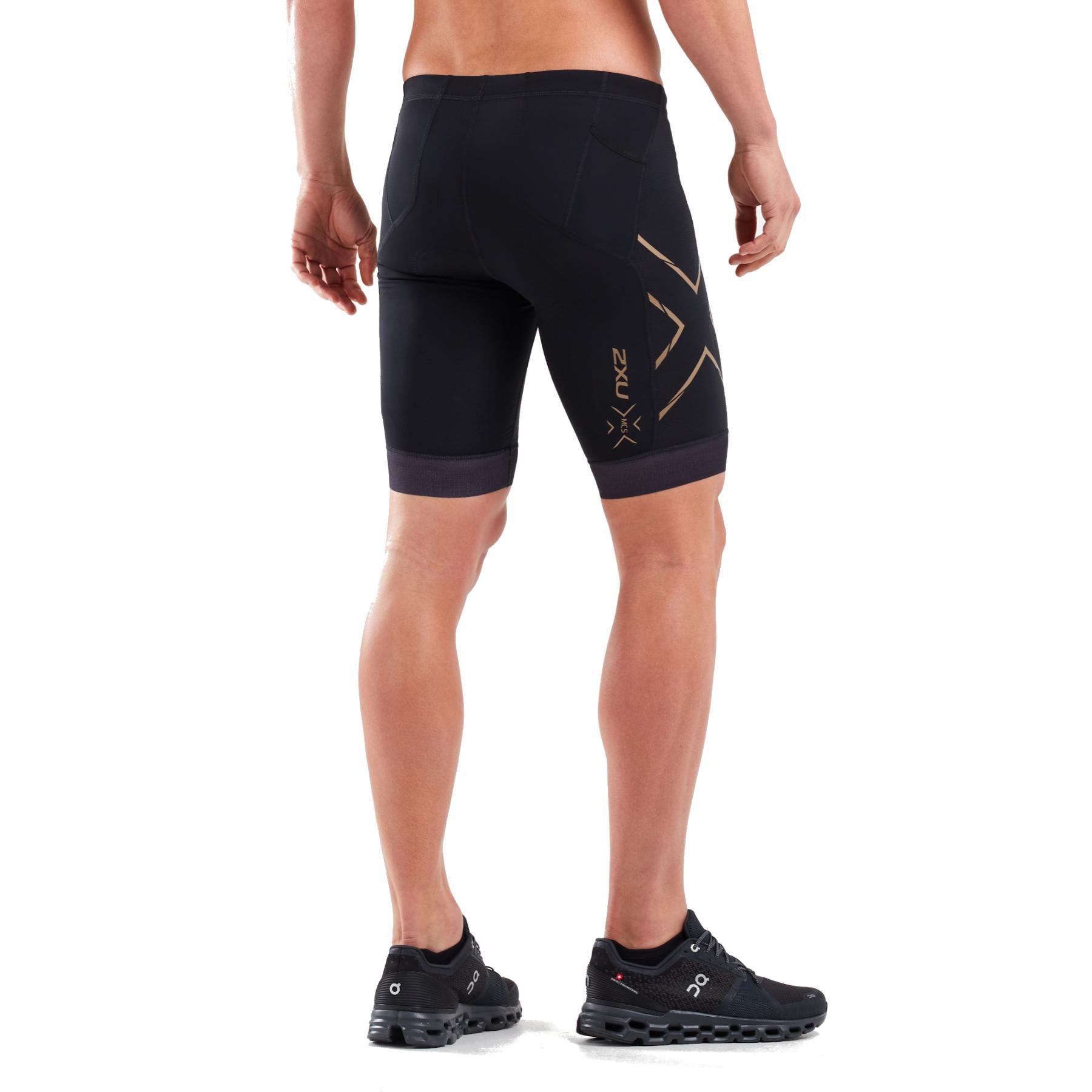 Imagen de 2XU Compression Tri Shorts - black/gold