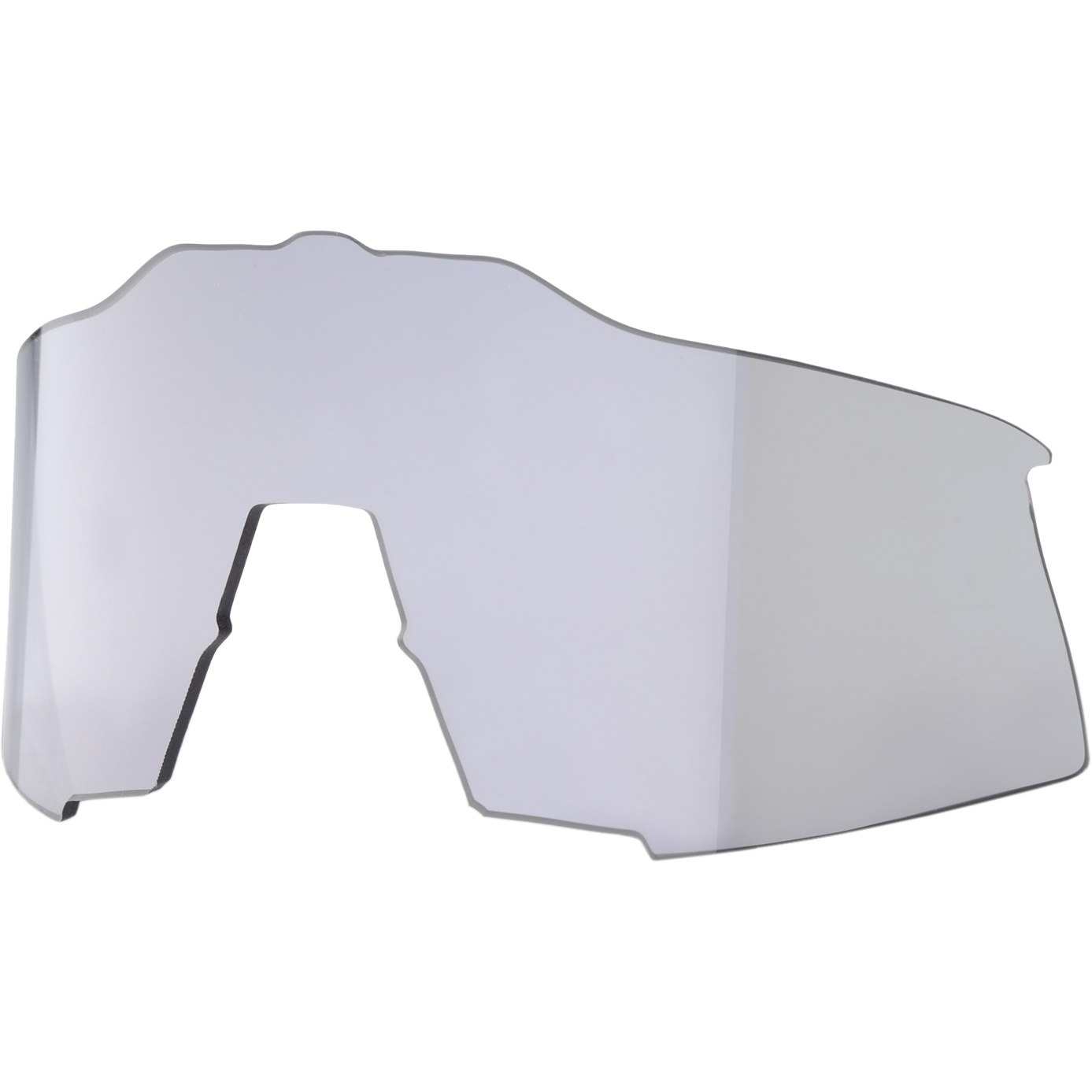 100% Speedcraft Tall HiPER Mirror Lente de repuesto - HiPER Silver Mirror