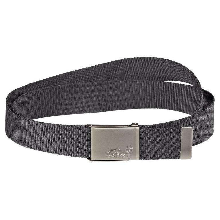 Jack Wolfskin Webbing Belt Wide - dark steel
