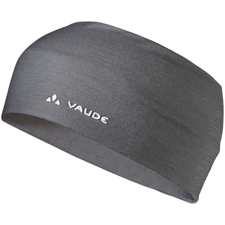 Vaude Cassons Merino Headband Stirnband - iron