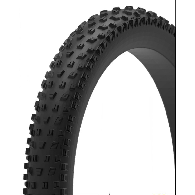 Imagen de 45NRTH VanHelga Fatbike Folding Tire - Tubeless Ready - 27.5x4.0 Inch - 120TPI - black