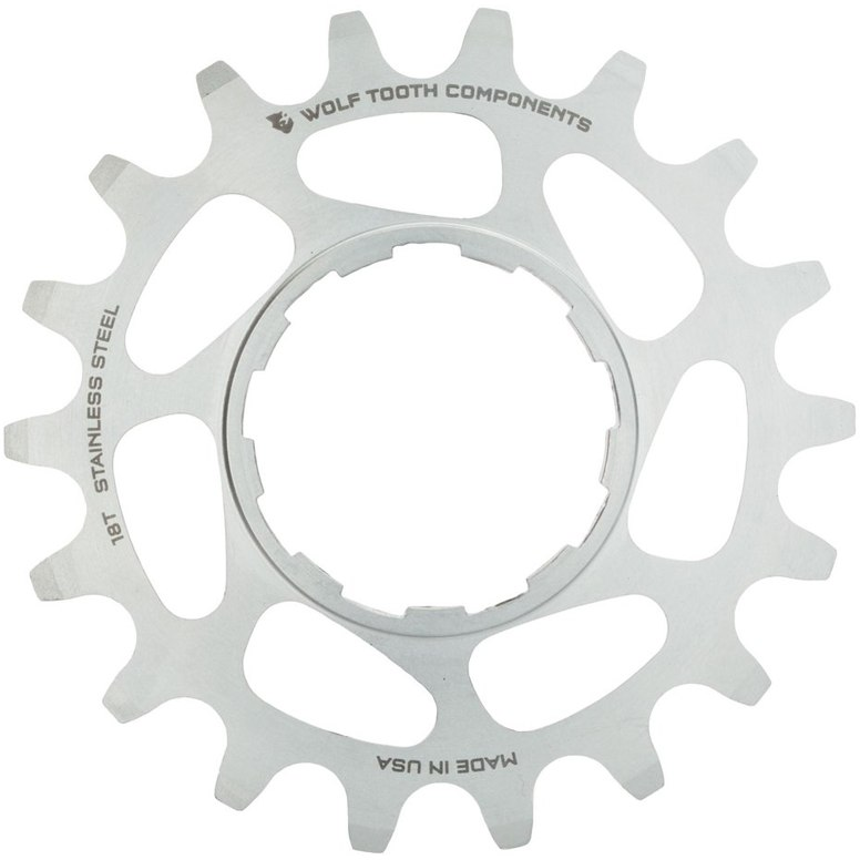 Wolf Tooth Single Speed Ritzel CNC Stahl