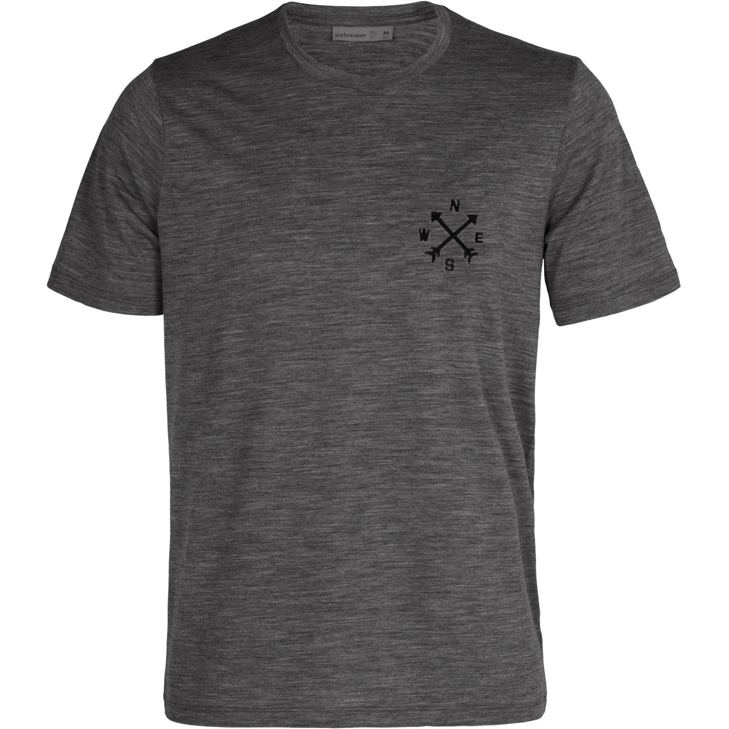 Produktbild von Icebreaker Tech Lite II Nonetwork Herren T-Shirt - Gritstone Hthr